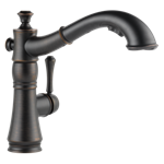 4197-rb-dst Delta Venetian Bronze Cassidy Single Handle Pull-out Kitchen Faucet CAT160FOC,4197-RB-DST,034449705653,4197RBDST,34449705653