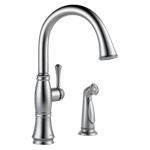 4297-ar-dst Delta Arctic Stainless Cassidy Single Handle Kitchen Faucet With Spray CAT160FOC,4297-AR-DST,034449705684,34449705684