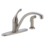 440-ss-dst Delta Stainless Collins Single Handle Kitchen Faucet With Spray CAT160,Other,034449587969,green,DELTA GREEN,34449587969