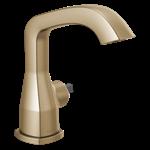 576-czmpu-lhp-dst Delta Champagne Bronze Stryke Single Handle Faucet Less Handle