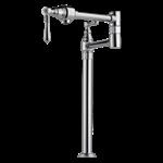 141-dst Chrome Delta Collins Single Handle Kitchen Faucet