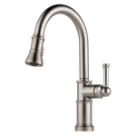 63025lf-ss Brizo Stainless Artesso Single Handle Pull-down Kitchen Faucet CAT160BR,63025LF-SS,034449734882,34449734882