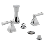 2523lf-ssmpu Stainless Delta Classic Two Handle Centerset Bathroom Faucet