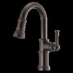 2533lf-blmpu Matte Black Delta Kayra Two Handle Centerset Bathroom Faucet