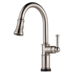 64025lf-ss Brizo Stainless Artesso Single Handle Pull-down Kitchen Faucet With Smarttouch Technology CAT160BR,64025LF-SS,034449734929,34449734929