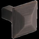 699240-rb Brizo Venetian Bronze Vesi Drawer Knob