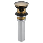 72173-cz Delta Champagne Bronze Push Pop-up With Overflow