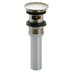 72173-pn Delta Polished Nickel Push Pop-up With Overflow
