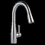 9113-ar-dst Delta Arctic Stainless Essa Single Handle Pull-down Kitchen Faucet CAT160,9113-AR-DST,034449786997,9113ARDST,MFGR VENDOR: DELTA,PRCH VENDOR: DELTA,34449786997