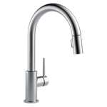 9159-ar-dst Delta Arctic Stainless Trinsic Single Handle Pull-down Kitchen Faucet CAT160FOC,9159ARDST,9159ARDST,34449644402,034449644402,