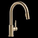 9159-cz-dst Delta Champagne Bronze Trinsic Single Handle Pull-down Kitchen Faucet CAT160FOC,9159-CZ-DST,034449644419,9159CZDST,34449644419,