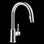 9159-dst Delta Chrome Trinsic Single Handle Pull-down Kitchen Faucet CAT160FOC,9159-DST,034449644396,9159DST,34449644396,