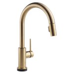 9159t-cz-dst Delta Champagne Bronze Trinsic Single Handle Pull-down Kitchen Faucet With Touch2o Technology CAT160FOC,9159T-CZ-DST,034449644471,34449644471,