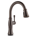 9197t-rb-dst Delta Venetian Bronze Cassidy Single Handle Pull-down Kitchen Faucet With Touch2o And Shieldspray Technologies CAT160FOC,9197T-RB-DST,34449692731,034449692731,