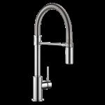 9659-dst Delta Chrome Trinsic Single Handle Pull-down Kitchen Faucet With Spring Spout CAT160FOC,9659DST,34449818100,034449818100