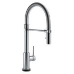 9659t-ar-dst Delta Arctic Stainless Trinsic Single Handle Pull-down Spring Spout Kitchen Faucet With Touch2o Technology CAT160FOC,MFGR VENDOR: DELTA,34449818070,034449818070