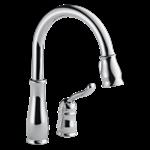 978-dst Delta Chrome Leland Single Handle Pull-down Kitchen Faucet CAT160,034449578127,978DST,MFGR VENDOR: DELTA,PRCH VENDOR: DELTA,34449578127