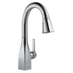 9983-ar-dst Delta Arctic Stainless Mateo Single Handle Pull-down Bar / Prep Faucet CAT160FOC,9983-AR-DST,034449802840,34449802840