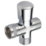 50650 Delta Chrome 3-way Shower Arm Diverter For Hand Shower CAT160S,50650,034449514996,RP32550,DELRP32550,34449514996