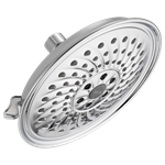 52687 Delta H2okinetic 2 Gpm 3 Spray Settings H2okinetic Spray Full Body Spray Polished Chrome Showerhead CAT160S,52687,034449736930,34449736930,34449833073