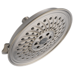 52687-ss Delta 2 Gpm 3 Function Brilliance Stainless Showerhead CAT160S,52687-SS,034449736947,MFGR VENDOR: DELTA,PRCH VENDOR: DELTA,34449736947,34449833073