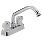 P299232 Peerless Ada Polished Chrome 4 In Centerset 2 Hole 2 Handle Laundry Faucet CAT160PE,P299232,P299232,P299232,P299232,034449652773,34449652773,