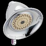 Rp34355 Delta Chrome Premium 3-setting Shower Head CAT160S,RP34355,16024730,034449448789,34449448789,34449821780
