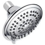 Rp78575 Delta Universal Showering 1.75 Gpm 5 Spray Settings Polished Chrome Showerhead CAT160S,RP78575,034449767767,34449767767,34449821780
