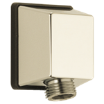 50570-pn Polished Nickel Delta Square Wall Elbow For Handshower CAT160S,50570-PN,034449724401,34449724401
