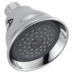 Rp41589 Delta Chrome Fundamentals Single-setting Shower Head CAT160S,RP41589,RP41589,RP41589,RP41589,0034449495608,034449495608,34449495608,34449821780