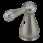 H278ss Delta Stainless Leland Metal Lever Handle Set - 2h Bathroom CAT160HA,10034449492123,034449492126,34449492126,