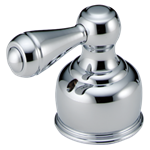 H65 Delta Chrome Neostyleold Metal Lever Handle Set - Roman Tub CAT160HA,H65,16000546,16030051,10034449363713,034449363716,34449363716,