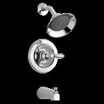 Ptt188790 Peerless Chrome Claymore Tub And Shower Trim Kit CAT160PE,PTT188790,PTT188790,PTT188790,PTT188790,034449692380,34449692380,