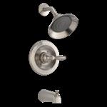 Ptt188790-bn Peerless Brushed Nickel Claymore Tub And Shower Trim Kit CAT160PE,PTT188790-BN,PTT188790-BN,PTT188790-BN,PTT188790-BN,034449692397,34449692397,
