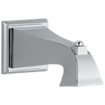 Rp54323 D-w-o Delta Chrome Dryden Tub Spout - Non-diverter
