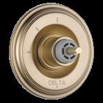 T11897-czlhp Delta Champagne Bronze Cassidy 3-setting 2-port Diverter Trim - Less Handle CAT160FOC,T11897-CZLHP,034449684866,T11897CZLHP,34449684866,