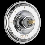 T11897-lhp Delta Chrome Cassidy 3-setting 2-port Diverter Trim - Less Handle CAT160FOC,T11897-LHP,034449684835,T11897LHP,34449684835,