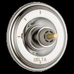 T11897-pnlhp Delta Polished Nickel Cassidy 3-setting 2-port Diverter Trim - Less Handle CAT160FOC,T11897-PNLHP,034449684873,T11897PNLHP,34449684873,