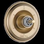 T11997-czlhp Delta Champagne Bronze Cassidy 6-setting 3-port Diverter Trim - Less Handle