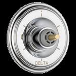 T11997-lhp Delta Chrome Cassidy 6-setting 3-port Diverter Trim - Less Handle CAT160FOC,T11997-LHP,034449684880,T11997LHP,34449684880,