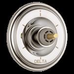 T11997-pnlhp Delta Polished Nickel Cassidy 6-setting 3-port Diverter Trim - Less Handle CAT160FOC,T11997-PNLHP,034449684927,T11997PNLHP,34449684927,