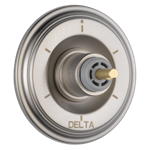 T11997-sslhp Delta Stainless Cassidy 6-setting 3-port Diverter Trim - Less Handle CAT160FOC,T11997-SSLHP,034449684897,T11997SSLHP,34449684897,