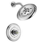 T14297-lhp Delta Chrome Cassidy Monitor 14 Series H2okinetic Shower Trim - Less Handle CAT160FOC,T14297-LHP,034449684200,T14297LHP,34449684200,