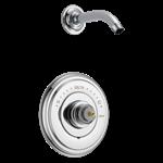 T14297-lhp-lhd Delta Chrome Cassidy Monitor 14 Series Shower Trim - Less Handle - Less Head CAT160FOC,T14297-LHP-LHD,034449730570,34449730570