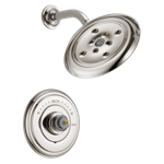 T14297-pnlhp Delta Polished Nickel Cassidy Monitor 14 Series H2okinetic Shower Trim - Less Handle