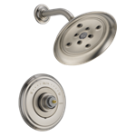 T14297-sslhp Delta Stainless Cassidy Monitor 14 Series H2okinetic Shower Trim - Less Handle CAT160FOC,T14297-SSLHP,034449684217,T14297SSLHP,34449684217,