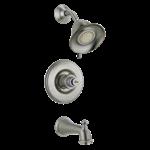 T14455-sslhp Delta Stainless Victorian Monitor 14 Series Tub & Shower Trim - Less Handle CAT160FOC,T14455-SSLHP,34449519755,T14455SSLHP,DT14455SSLHP,1455-SSLHP,1455SSLHP,D1455SSLHP,T1455-SSLHPTP,T1455SSLHPTP,DT1455SSLHPTP,10034449519752,034449519755,