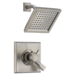 T17251-ss Delta Stainless Dryden Monitor 17 Series Shower Trim CAT160FOC,T17251-SS,034449582438,T17251SS,34449582438,