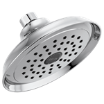 Rp72856 Delta Silverton 1.75 Gpm Single Function Spray Polished Chrome Showerhead CAT160P,034449699778,34449699778
