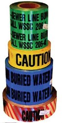 """Wdt 3"""" X 1000 Blue Water Detector Tape CAT481,WDT,"""